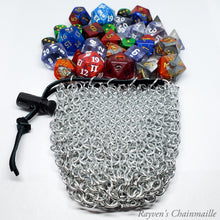 Load image into Gallery viewer, Medium Chainmaille Dice Bag