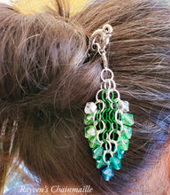 Load image into Gallery viewer, Rayven's Chainmaille| Hair Stick Chainmail Decorative Dangle