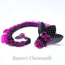 Load image into Gallery viewer, Rayven's Chainmaille| Ultra Chainmail Dragon Sculpture