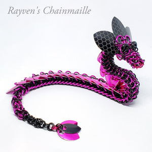 Rayven's Chainmaille| Ultra Chainmail Dragon Sculpture