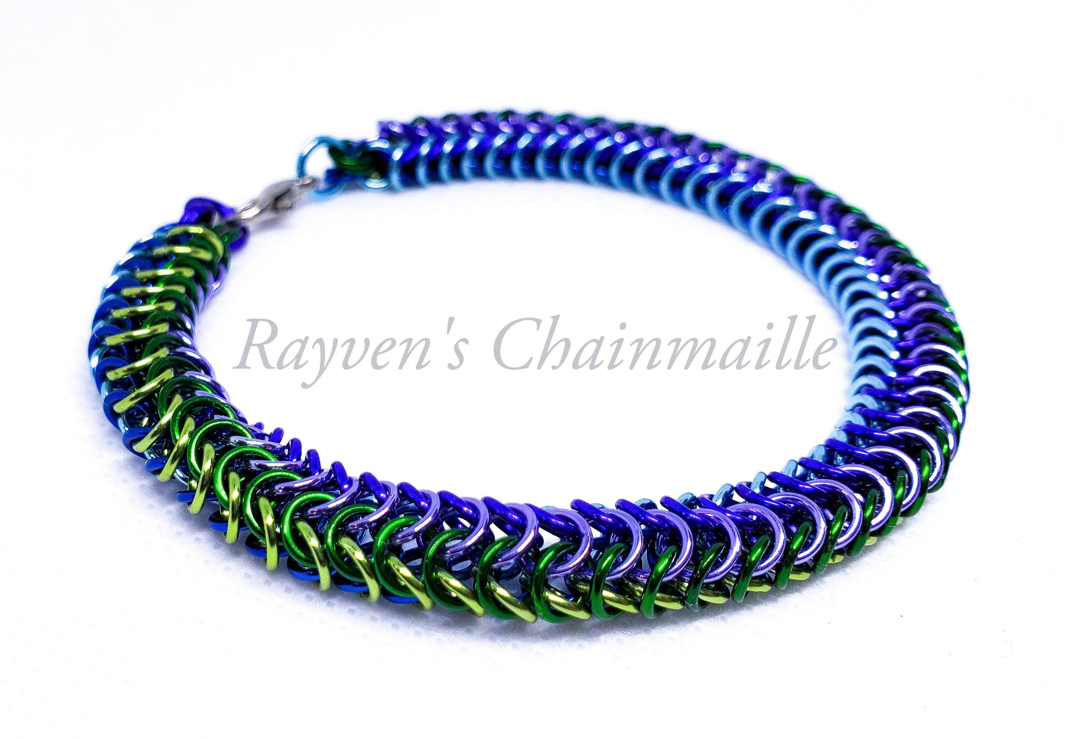 Rayven's Chainmaille| Chainmail Box Weave Bracelet