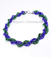 Load image into Gallery viewer, Rayven's Chainmaille| Double Helix DNA Chainmaille Bracelet