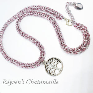 Rayven's Chainmaille| tree of life Necklace