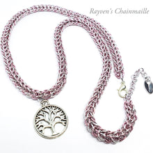 Load image into Gallery viewer, Rayven's Chainmaille| tree of life Necklace