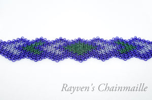 Rayven's Chainmaille| European 4-1 Diamond Chainmail Bracelet