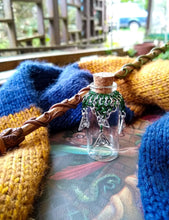 Load image into Gallery viewer, Rayven's Chainmaille| Harry Potter Slytherin House Chainmaille Potion Bottles
