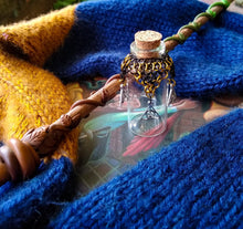 Load image into Gallery viewer, Rayven's Chainmaille| Harry Potter Hufflepuff House Chainmaille Potion Bottles