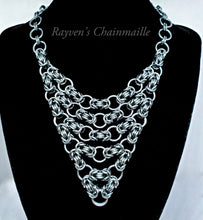 Load image into Gallery viewer, Unlawful Assembly Byzantine Chainmaille Necklace - Rayven's Chainmaille