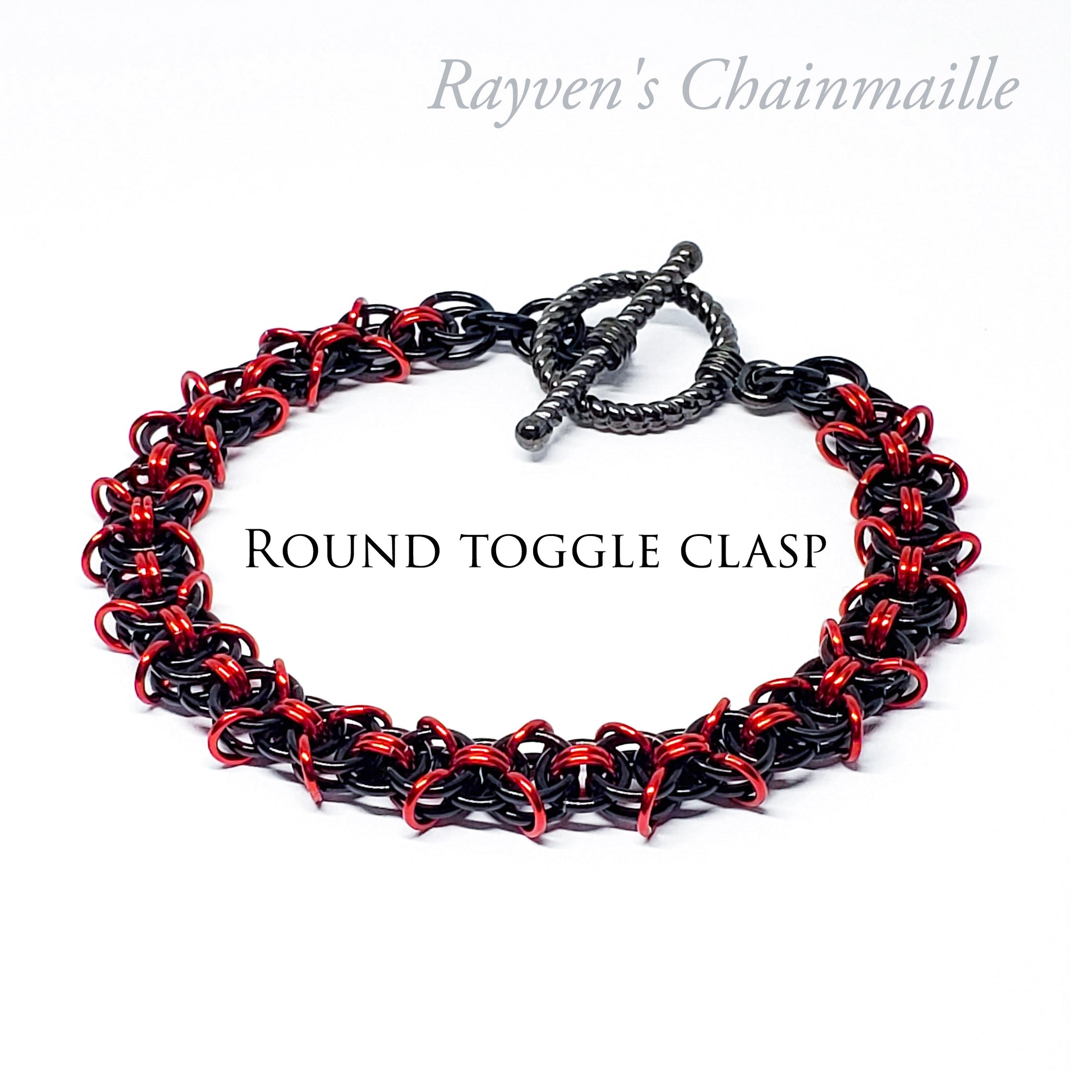 X Helm Chainmail Bracelet - Rayven's Chainmaille