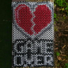 Load image into Gallery viewer, Game Over Wall Hanging Inlay - Rayven's Chainmaille