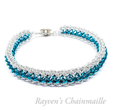 Load image into Gallery viewer, Micro Raven's Braid Chainmail Bracelet - Rayven's Chainmaille