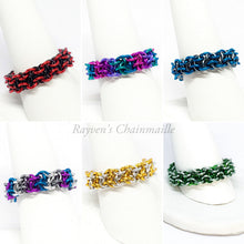Load image into Gallery viewer, Vipera Berus Chainmail Rings - Rayven's Chainmaille