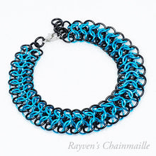 Load image into Gallery viewer, Slinky Interwoven Chainmail Bracelet - Rayven's Chainmaille