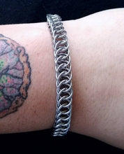 Load image into Gallery viewer, Stainless Steel Half Foxtail Chainmaille Bracelet - Rayven's Chainmaille