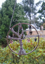 Load image into Gallery viewer, Tree of life Yggdrasil Chainmaille Wall Art - Rayven's Chainmaille