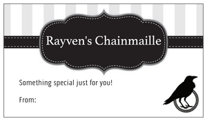Gift-Wrapping - Rayven's Chainmaille