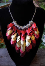Load image into Gallery viewer, Scalemaille Scaled Bib Necklace