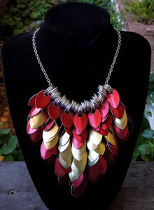 Scalemaille Scaled Bib Necklace