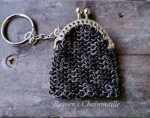 Load image into Gallery viewer, Keychain Chainmaille Coin Purse