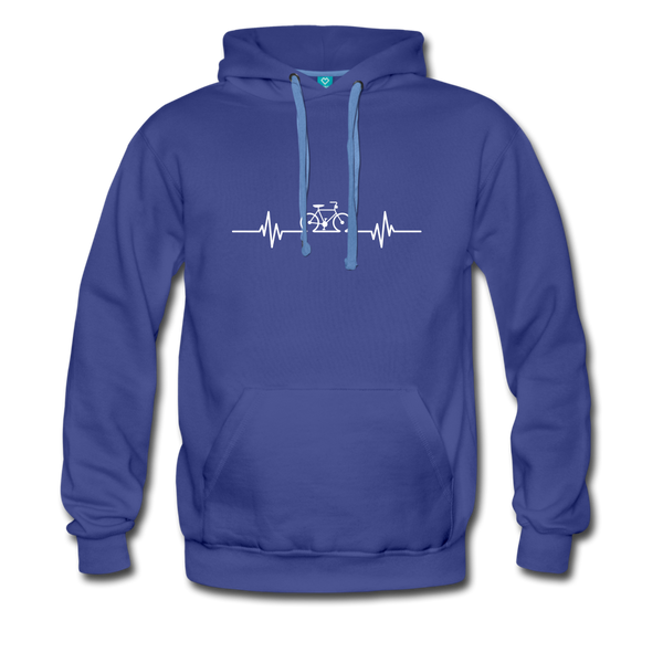 Love To Bike Unisex Hoodie - royalblue