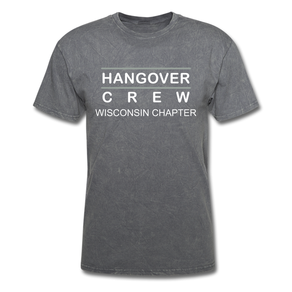 Hangover Crew Wisconsin Chapter - mineral charcoal gray