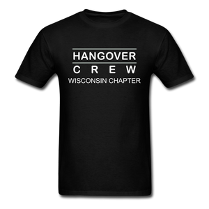 Hangover Crew Wisconsin Chapter - black