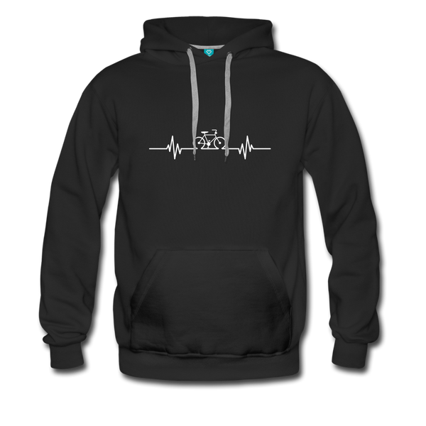 Love To Bike Unisex Hoodie - black