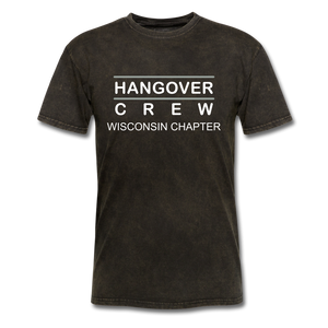 Hangover Crew Wisconsin Chapter - mineral black