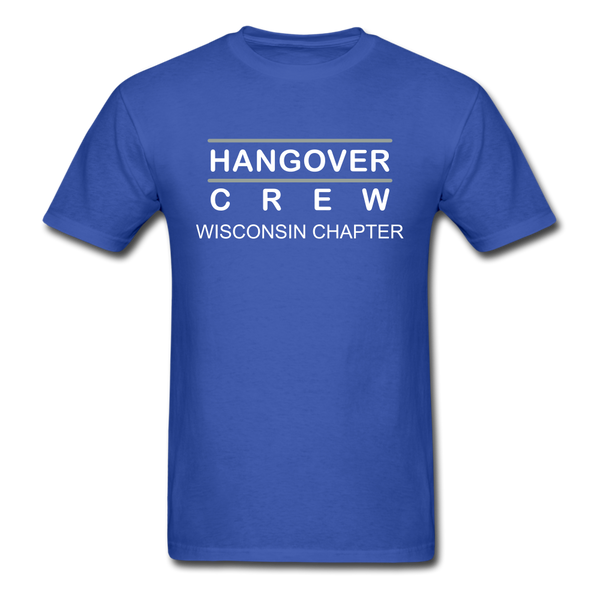 Hangover Crew Wisconsin Chapter - royal blue