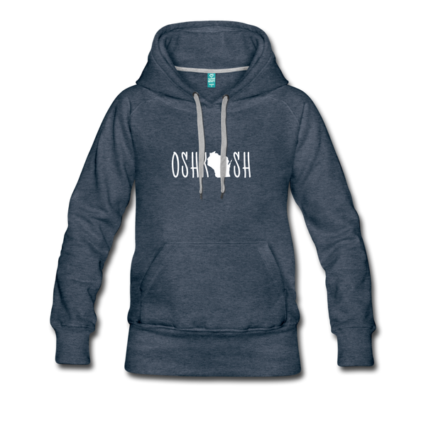 Oshkosh Women's Hoodie - heather denim
