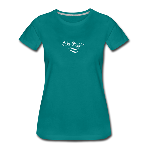 Lake Poygan Women's Premium T-Shirt - teal