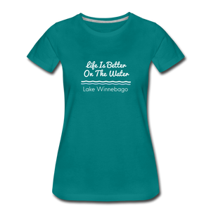 Lake Winnebago Premium Tee - teal