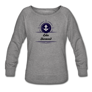 Anchor Lake Sherwood Women's Crewneck Sweatshirt - heather gray