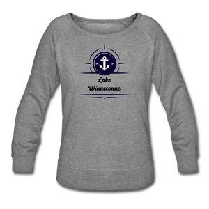 Anchor Lake Winneconne Women's Crewneck Sweatshirt - heather gray