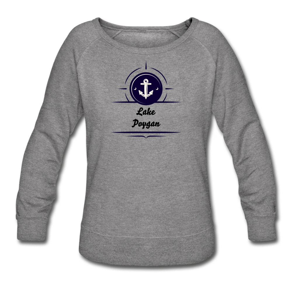 Anchor Lake Poygan Women's Crewneck Sweatshirt - heather gray