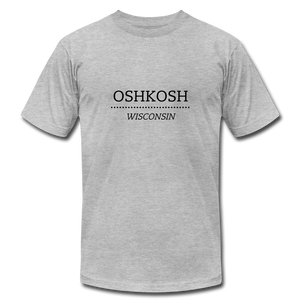 Oshkosh Wisconsin Unisex Tee - heather gray