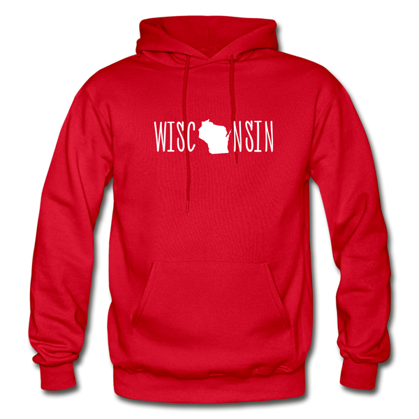 Wisconsin Hoodie - red