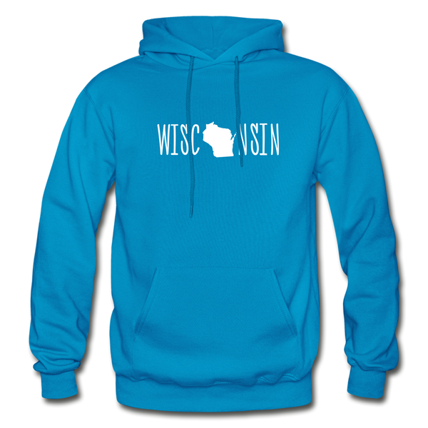 Wisconsin Hoodie - turquoise
