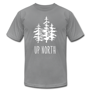 Up North Unisex Jersey Tee - slate