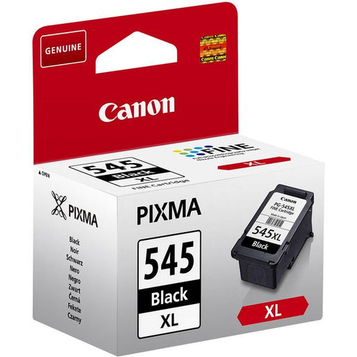 Cartuccia ad Inchiostro Originale Canon PG-545 XL IP2850/MG2550 Nero