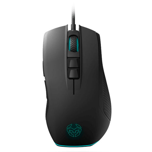 Mouse Gaming con LED Krom KENON Nero Azzurro