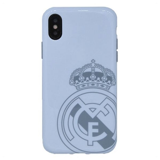 Custodia iPhone X Real Madrid C.F. RMCAR017 Bianco