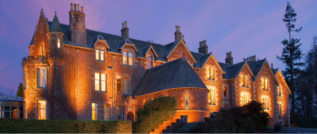 WE SUPPLIED BEAUTIFUL BLANKETS TO THIS LUXURY HOTEL IN SCOTLAND OWNED BY OUR TENNIS HERO ANDY MURRAY