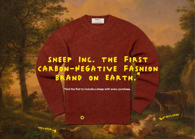 Wholly sustainable wooly jumper