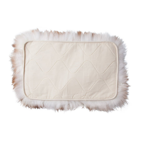 Sheepskin snuggle pet rug padding