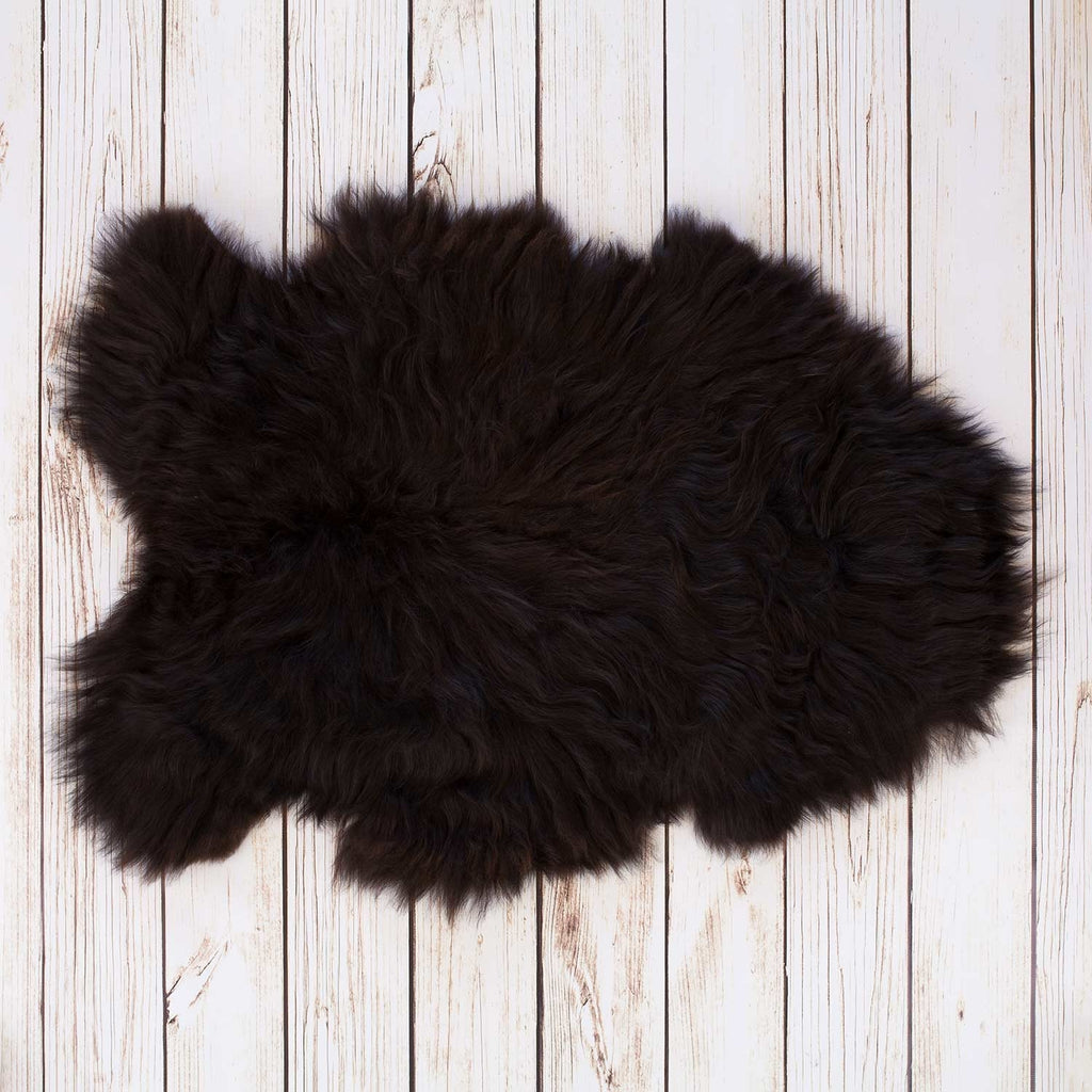 Ebony Icelandic Sheepskin