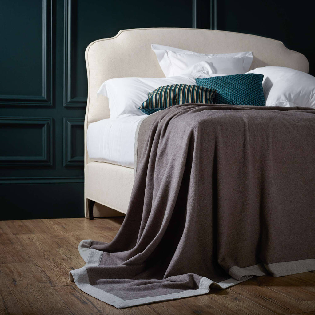 Afrodite Double-Faced Merino Blanket -  - LUXURY BEDDING  from The Wool Company