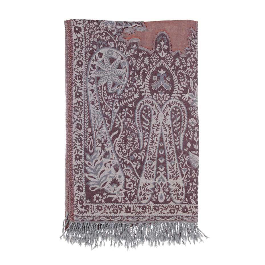 Amritsar Fine Wool Throw -  - LIVING  from The Wool Company