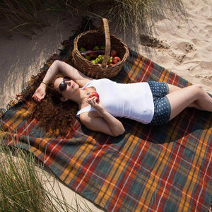 Buy Antique Buchanan Picnic Blanket From The Wool Company Online