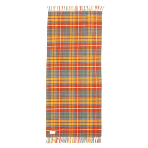 Antique Buchanan Tartan Check Pure New Wool Knee Rug -  - LIVING  from The Wool Company